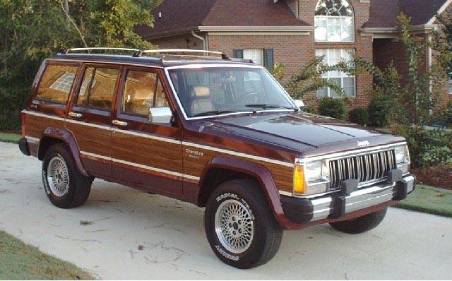 Jeep Cherokee Briarwood 1991 Фотографии