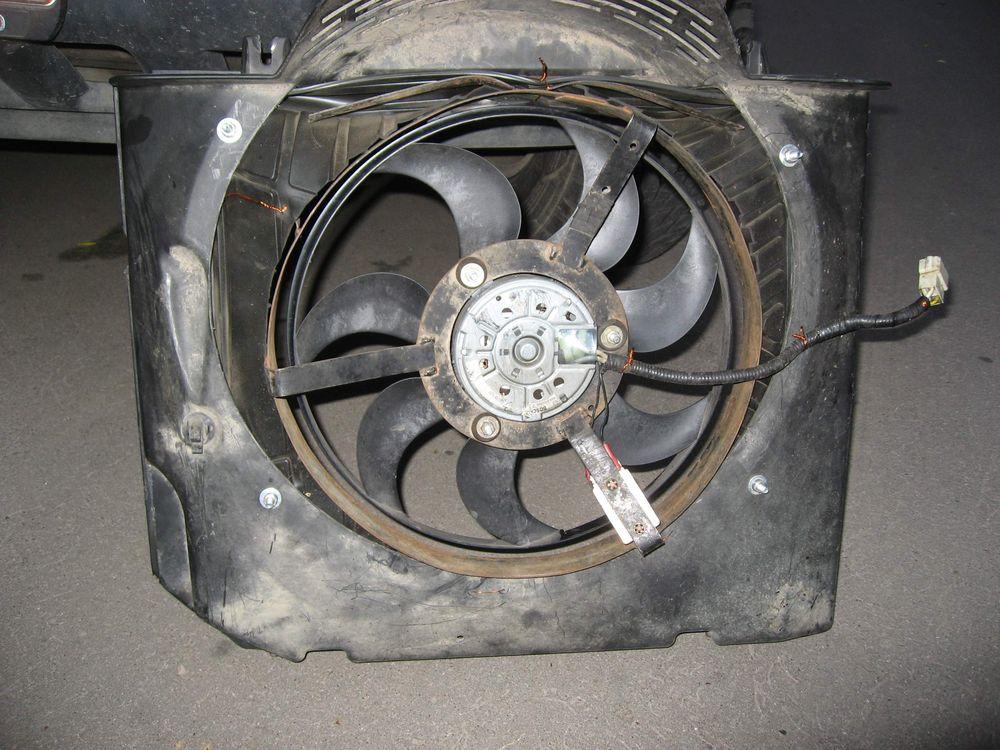 У вентилятора отломать