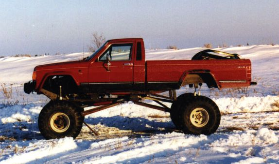 Very Lifted Long Bed Comanche The Pub Comanche Club Forums